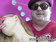 Gang of Spanish machos attacked fellatrix's mouth with dongs like pirates the bottle of rum 4