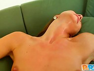 Brave whore dressed like a fireman courageously sat down on steadfast pecker 10