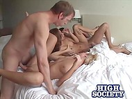 Guys met together to film their own porn casting with the most beautiful girls from university 5