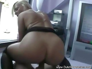 Cameraguy had no chance to resist dirty-minded Dutch whore's naughty flirtations