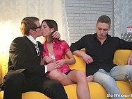 For a high price he will give his wife to her boss, all the more if she doesn't mind this 4