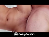 Driver rubbed pussy of shorty with funny voice before owned it at the casting 11