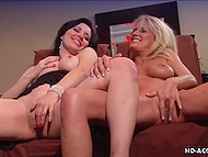 High-quality porn video starring experienced lesbians doing lesbian stuff like oral and fingering