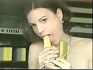 Amateur video featuring actress and comedian Allison Williams masturbating and giving bj to mustached man 3