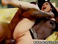 Dark guy with mohawk widened Joanna Angel's tidy cranny with big schlong 5