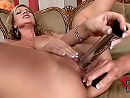 Ladies have two vibrators in reserve so they can satisfy their holes simultaneously 6