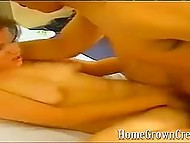 Любительская камера товарища запечатлела, как усатый латинос накончал в киску рыжеволосой подружки 7