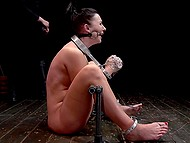 Horny girl agreed to take part in BDSM games and remained really satisfied 11