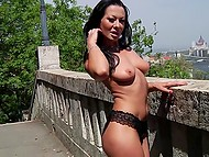 Beauty chick knows how to seduce and she can turn on everyone with her dance 4