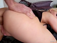 MILF with giant tits stretched anus with beads before piping-hot anal invasion  11
