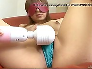 Man blindfolded Japanese to make her relax and plunge into the abyss of pure pleasure 6
