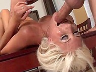 Cougar Puma Swede wanted to show what her deep throat is capable as soon as possible 6