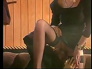 Compilation of vintage videos featuring Estonian beauty Kristiina Bellanova who thinks sex is a pure pleasure 8