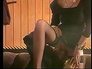 Подборка винтажных видео с эстонской красавицей Kristiina Bellanova, для которой секс - это одно удовольствие 8