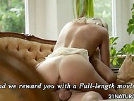 After passionate cunnilingus, fellow's hard dick paid a visit to overexcited pussy 9