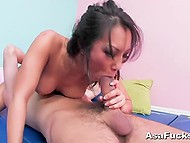 Lustful Asian Asa Akira had anal sex and gave fucker unforgettable rimming 5
