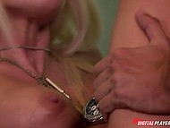 Police officer bangs pussy of his buxom seductive workmate right on the office table 5