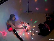 Amazing goddess Alison Tyler revealed immense globes for erotic photo session 4