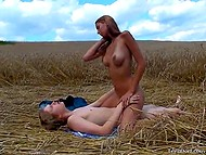 Rural macho had gorgeous time with heady enchantress away from prying eyes 9