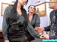 Buddy shows French Anissa Kate and her colleague how to appease rich clients 4