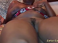 Two faithful friends went for sex tour to different African fancy places and had fun 10