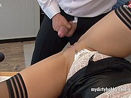 Office workers appreciate secretary Sina Velvet sucking and fucking skills much more than professional 8
