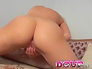 Minx fucks herself with help of favorite vibrator that saves her not for the first time 6
