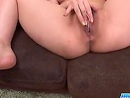 Guys came on minx and one of them pushed dick in her mouth while she was masturbating 7