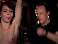 Man has tied young lass so now she has just to tolerate all of his perverted fantasies 6