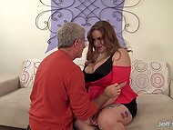 Chubby chaser got acquainted with another super hot BBW and hooked her up 3
