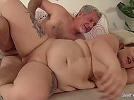 Chubby chaser got acquainted with another super hot BBW and hooked her up 5
