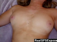 Lassie got horny from going to the gym and when came home entered boyfriend's room 10