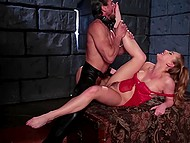 Coming to dungeon to visit sexy inmate arrogant mistress wanted to be fucked 8