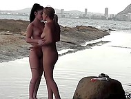 Bad girls found quiet bay just to calmly enjoy their bodies without any disturbing 6