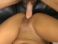 Latina came to casting and there she had to execute all of pervert director's commands 9