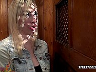 Blonde is such sinful and wicked that even priest couldn't resist her magic 3