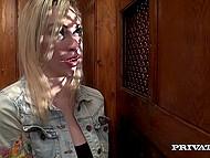 Блондинка настолько грешна и порочна, что даже святой отец не устоял пред её чарами 3
