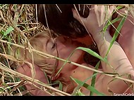 Frank full feature film scene about young blonde who is sleeping with her boyfriend outdoors 5