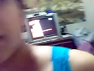 Arab girl asked boyfriend to take away the camera but he recorded themselves fucking anyway 10