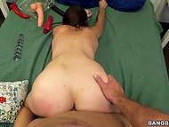 Fetching lassie isn't a good student because of stepdad who drills shaved vagina daily 10