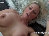Busty German and her paramour initially found it funny to fuck on camera and then it became their hobby 4