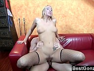 Cutie talked her boyfriend to film and show to public their high skill of fucking mastery 10