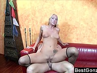 Cutie talked her boyfriend to film and show to public their high skill of fucking mastery 8
