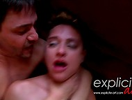 Man is shagging a passionate dudette and he makes her cum right after his orgasm 6