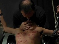 Woman has came into torturer's hands and now she is forced to stand all humiliations he has prepared 8