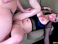 Girl loves when guy treats her as prostitute because it makes her lustful pussy wet 11