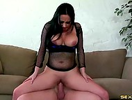 Girl loves when guy treats her as prostitute because it makes her lustful pussy wet 6