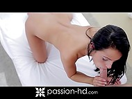 Lovely Lexi Dona was really horny and paramour had to try his best to quench her sexual arousal 6