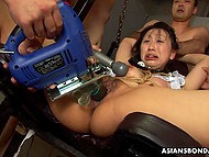 Asian cunt never felt such banging as that day and, while it was hardcore, she still liked it 9