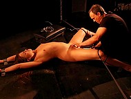 Girl came to sadistic who showed her that pain can be nice but pleasure sometimes is unbearable 8